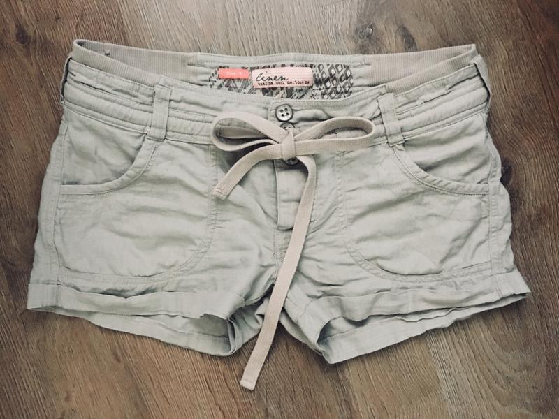 Коротенькие шортики new look телесного цвета размер см