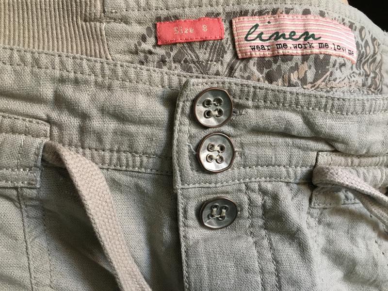 Коротенькие шортики new look телесного цвета размер см - Фото 3