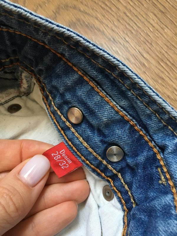 Стильные джинсы esprit размер 27-28 - Фото 4
