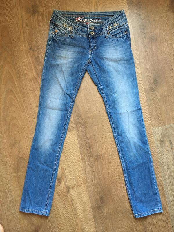 Стильные джинсы esprit размер 27-28 - Фото 6