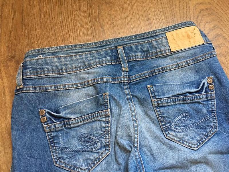 Стильные джинсы esprit размер 27-28 - Фото 7