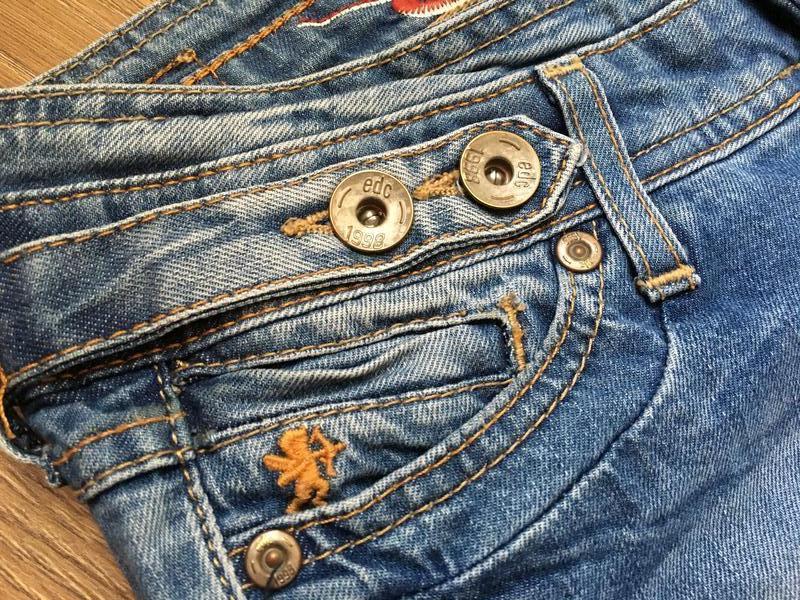 Стильные джинсы esprit размер 27-28 - Фото 9