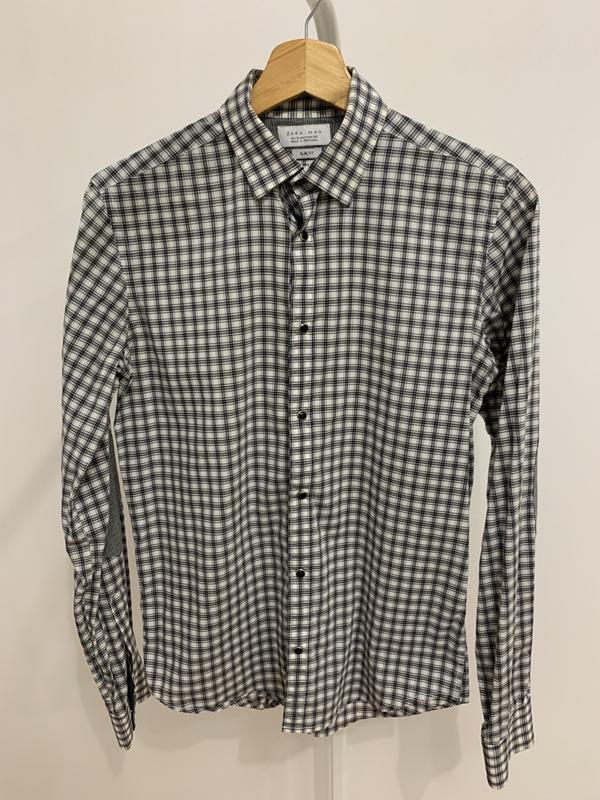 Рубашка сорочка мужская от бренда zara