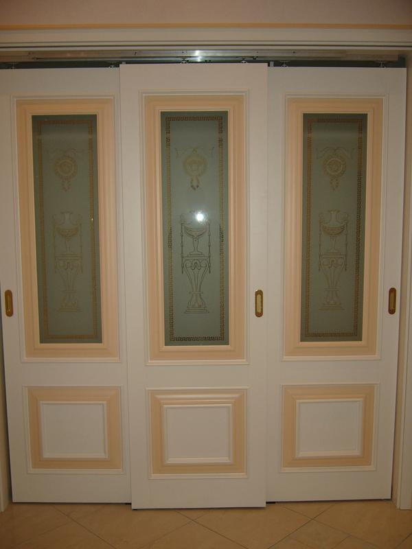 Реставрация дверей Киев, покраска деревянных дверей/