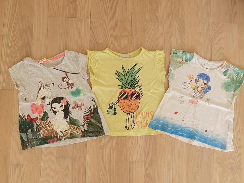 Фирменные футболочки для девочки