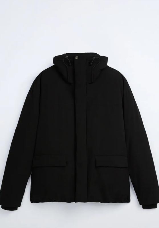 Zara куртка пуховик пуффер - Фото 5