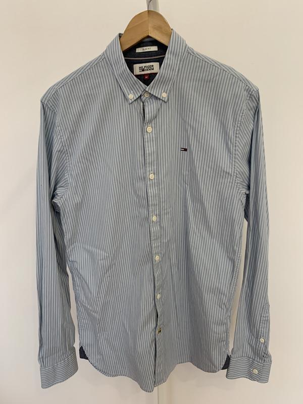 Сорочка рубашка мужская от бренда tommy hilfiger