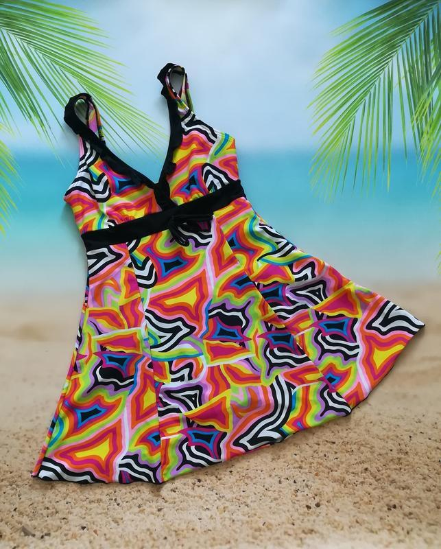Купальник-платье, купальное платье high club