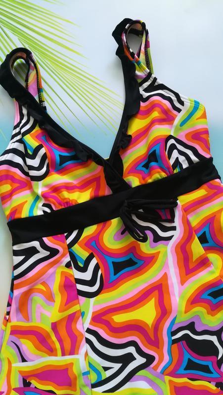 Купальник-платье, купальное платье high club - Фото 3