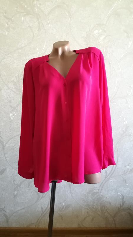 Яркая блуза, модный цвет «крокус»