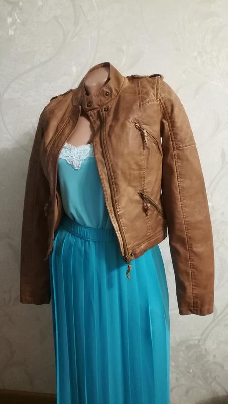 Крутая фирменная куртка denim модного бежевого цвета, качестве...