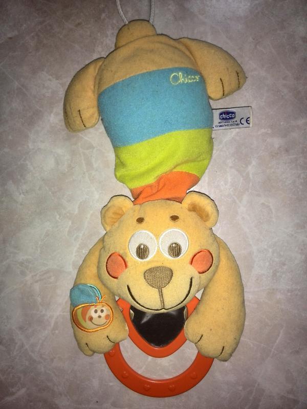 """Chicco Музыкальная игрушка подвеска для кроватки """"Медведь"""""""