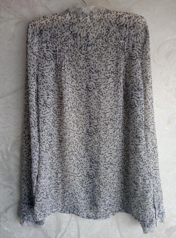 Шифоновая блуза - Фото 2