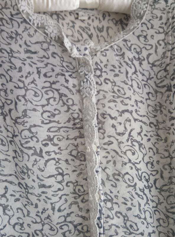 Шифоновая блуза - Фото 3