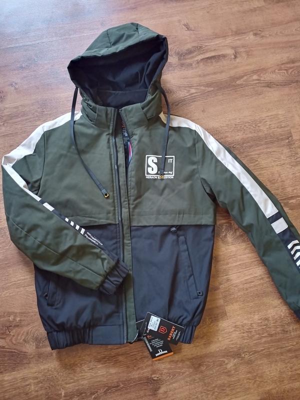 Куртка мужская весна/осень dabert - Фото 4
