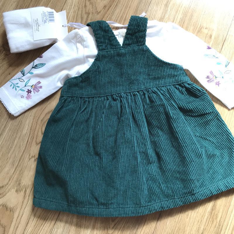 Шикарный комплект платье+кофта+колготки на выписку или праздник - Фото 6