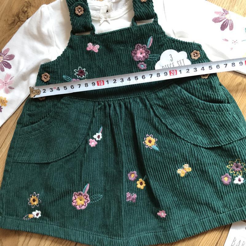 Шикарный комплект платье+кофта+колготки на выписку или праздник - Фото 8