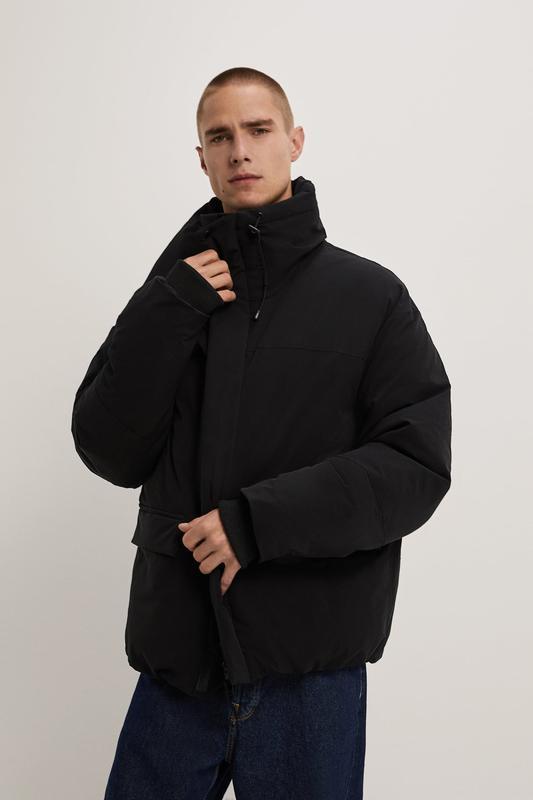 Zara куртка пуховик пуффер