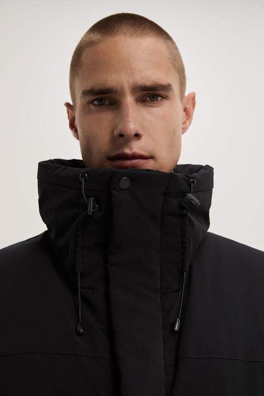 Zara куртка пуховик пуффер - Фото 2