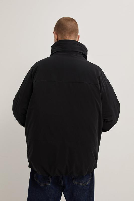 Zara куртка пуховик пуффер - Фото 3