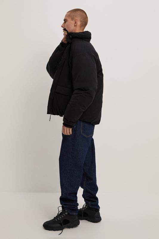 Zara куртка пуховик пуффер - Фото 4
