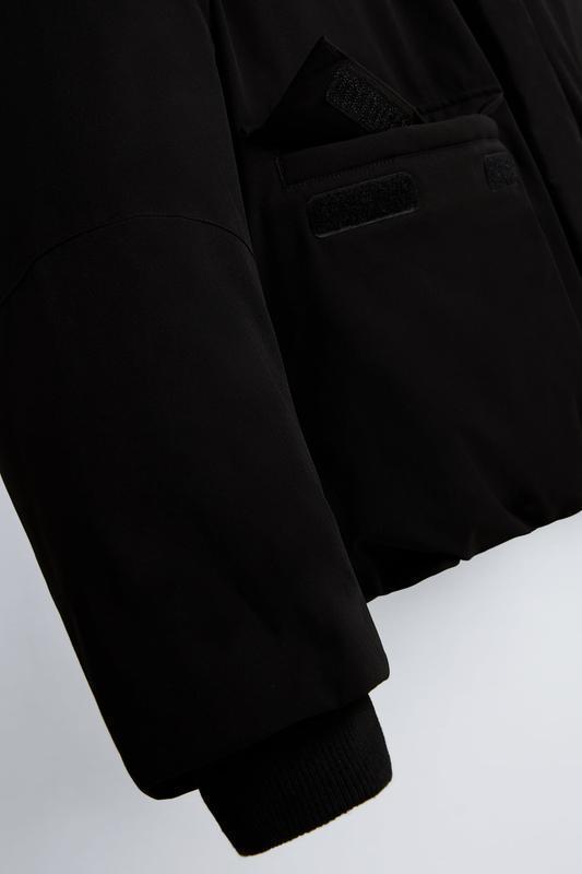 Zara куртка пуховик пуффер - Фото 6