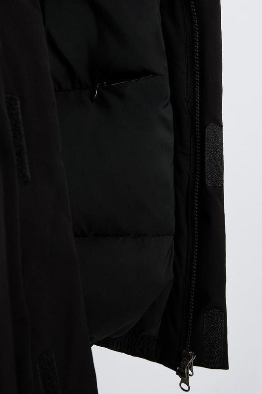 Zara куртка пуховик пуффер - Фото 7