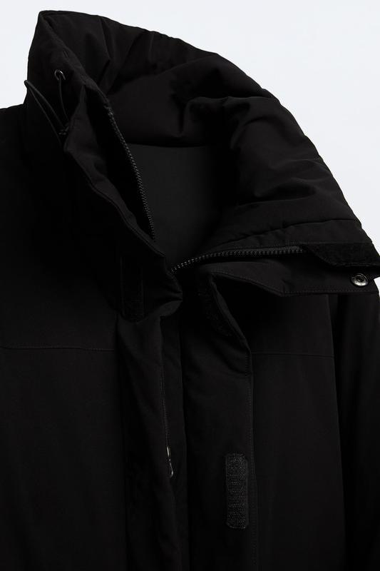 Zara куртка пуховик пуффер - Фото 8