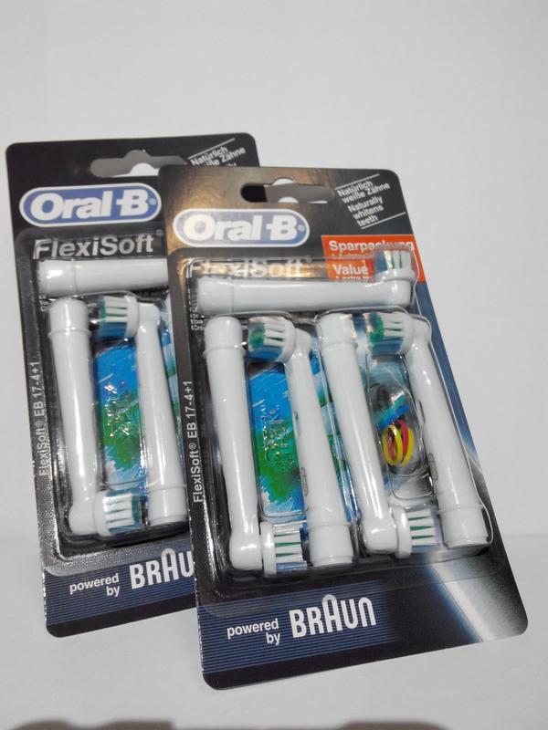 Braun Oral-B Flexisoft 4 шт насадки на Зубные электро щетки - Фото 4