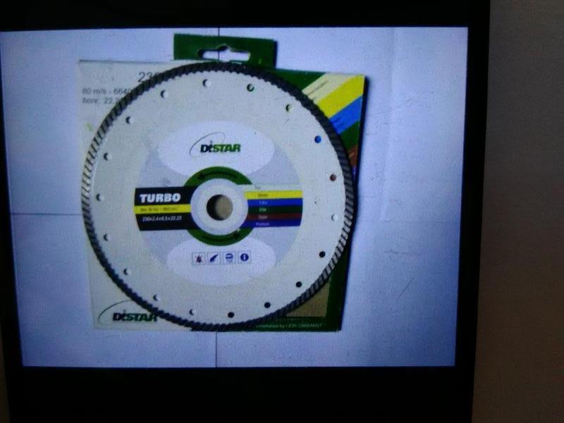 Новый отрезной алмазный диск по граниту 230*2,4*8,5*2