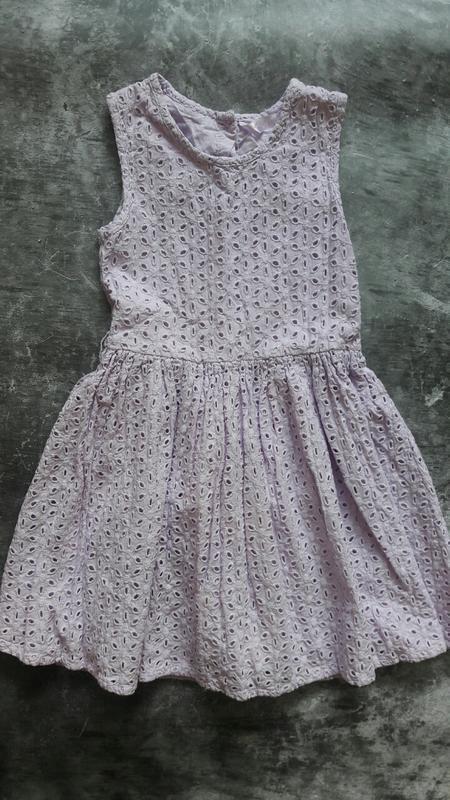 Летнее нарядное платье matalan нежно фиолетового цвета