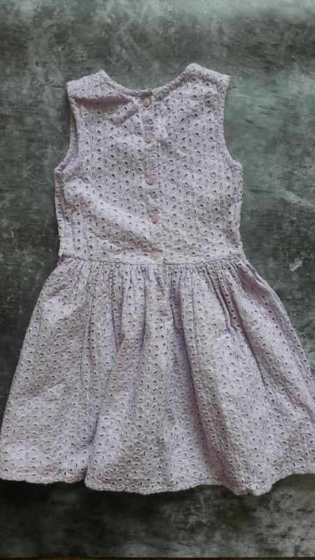 Летнее нарядное платье matalan нежно фиолетового цвета - Фото 2