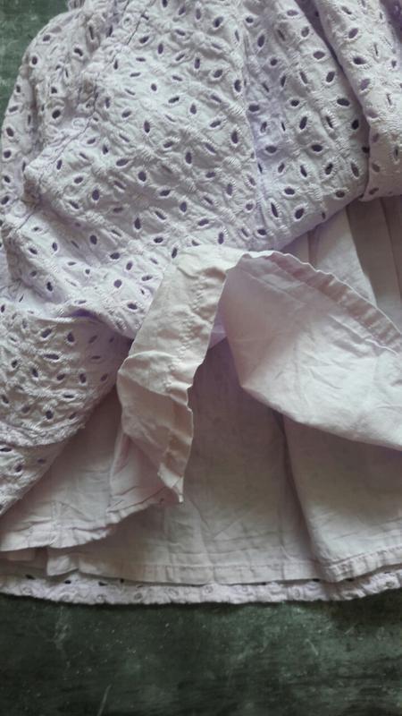 Летнее нарядное платье matalan нежно фиолетового цвета - Фото 6