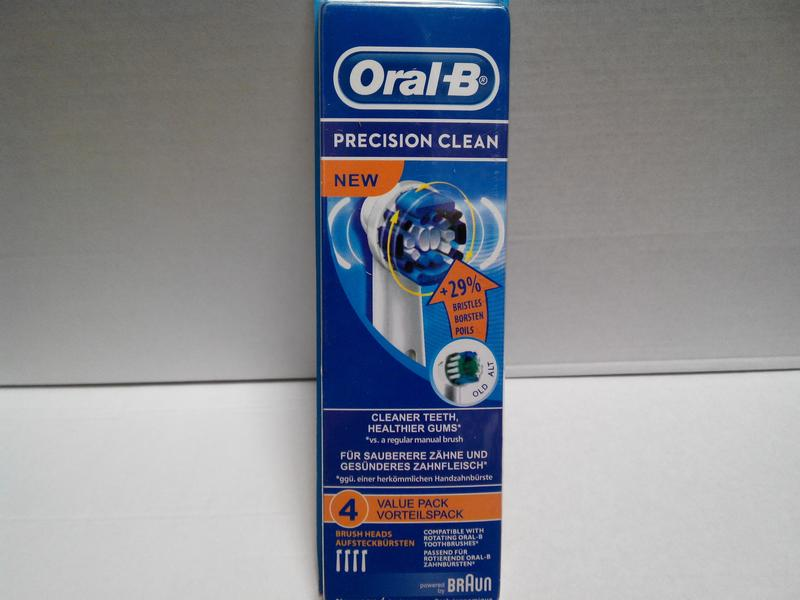 Braun Oral-B Precision Clean 4 шт NEW насадки на Зубные электро щ - Фото 3