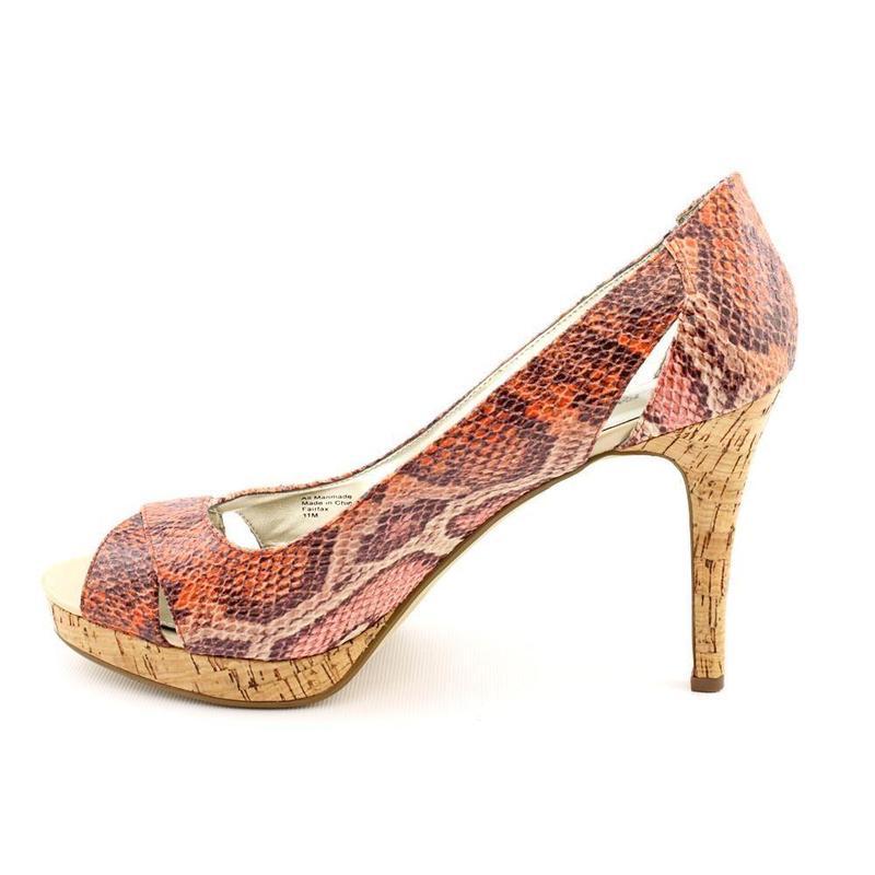 Alfani туфли змеиный принт США 26.5 см - Фото 4