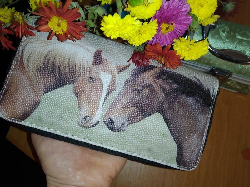 Кошелек, гаманец с лошадками