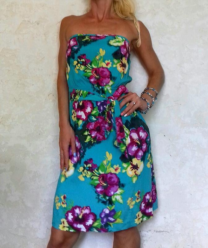 H&m нежное воздушное платье сарафан вискоза - Фото 2