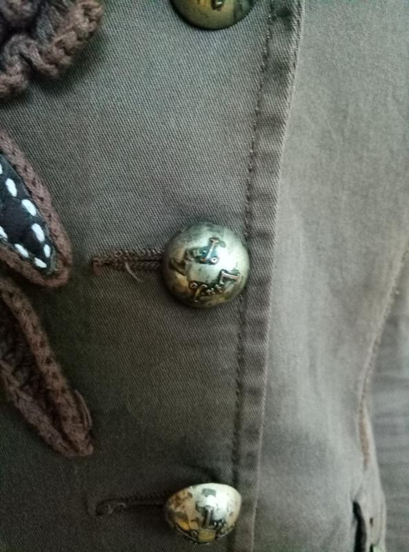 Брендовый хлопковый жакет - Фото 4