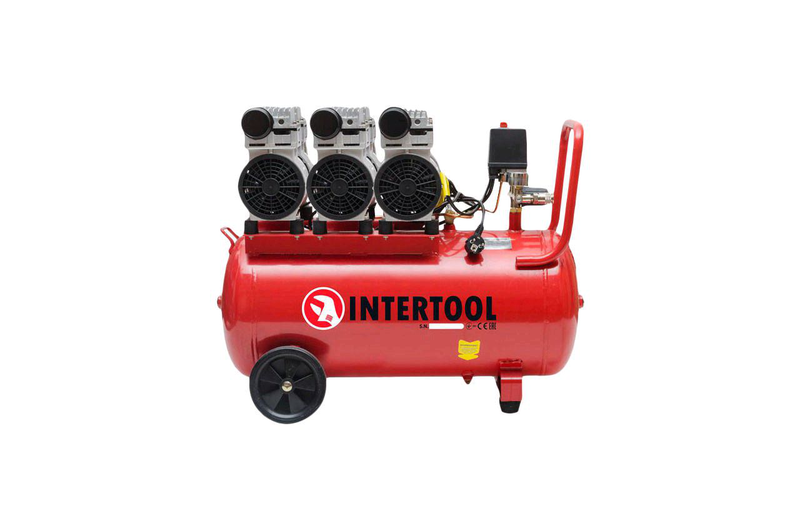 Intertool - 100 л x 3 x 750 Вт Купить компрессор Украина