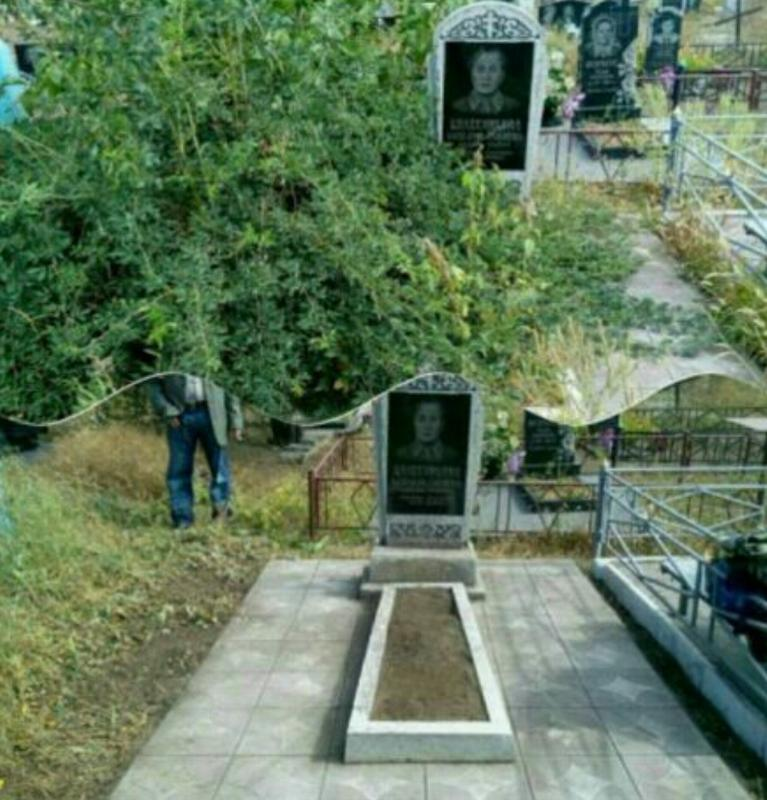 Уборка могил в Кривом Роге - Фото 5