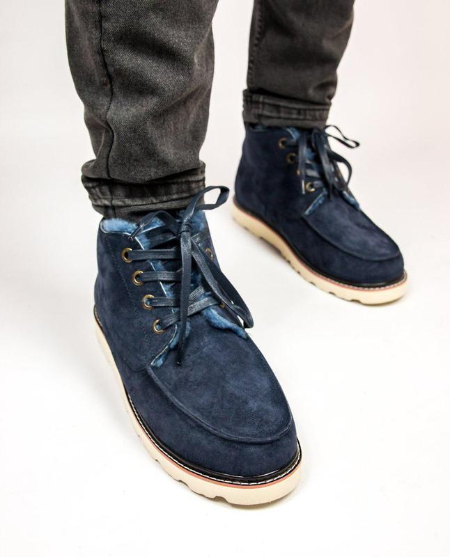 Мужские Зимние Ботинки Угги Ugg David Beckham Boots Люкс Качество - Фото 2