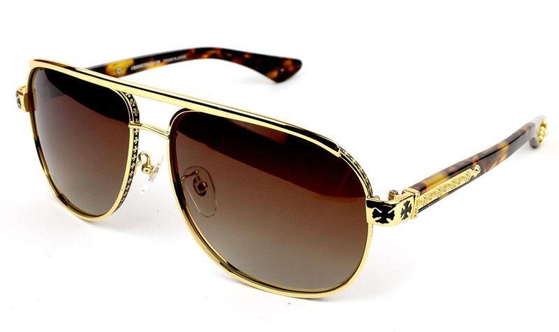 Солнцезащитные очки Chrome Hearts BONEYARD I DT HK