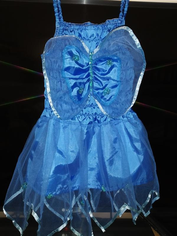 Карнавальное платье бабочка метелик ангел на 3-5 годика