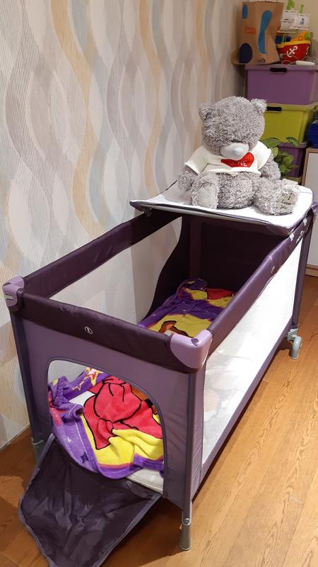 Кровать-манеж Baby design (до 20 кг)