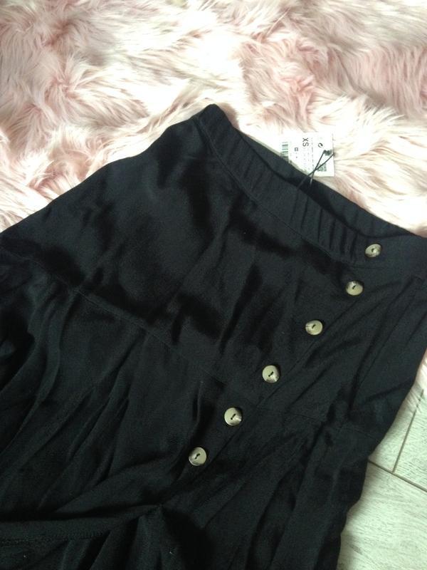 Стильная новая юбка zara . 100% вискоза - Фото 6