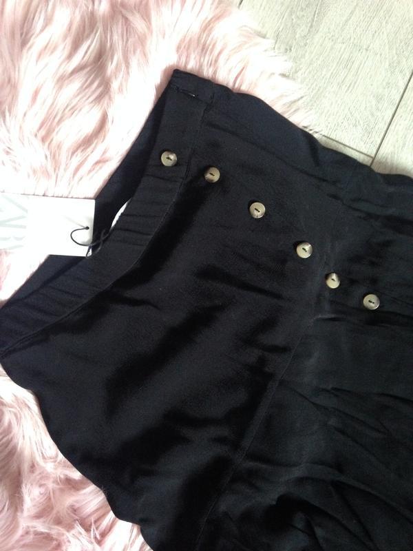 Стильная новая юбка zara . 100% вискоза - Фото 7