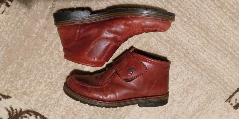 Итальянские кожаные ботиночки осень