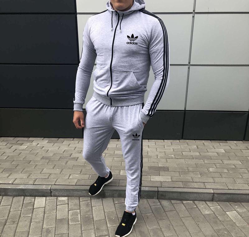 Мужской спортивный костюм adidas - Фото 2