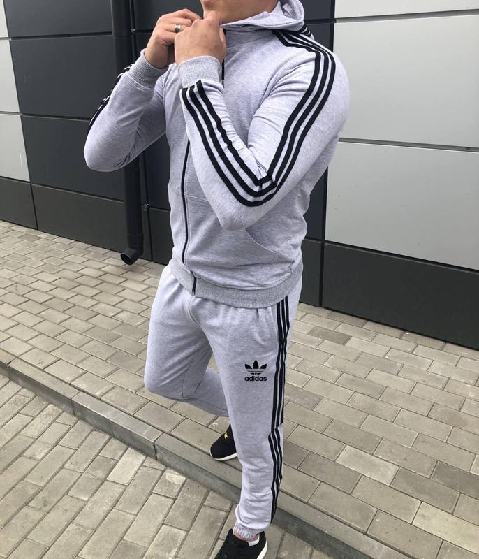 Мужской спортивный костюм adidas - Фото 3