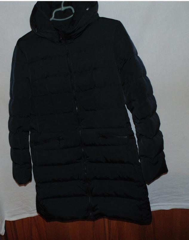 Куртка пальто пуховик как новый одевался пару раз оригинал zar...